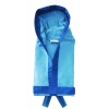 Accappatoio Microfibra Azzurro Unisex