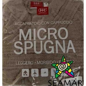 Accappatoio Spugna Tortora