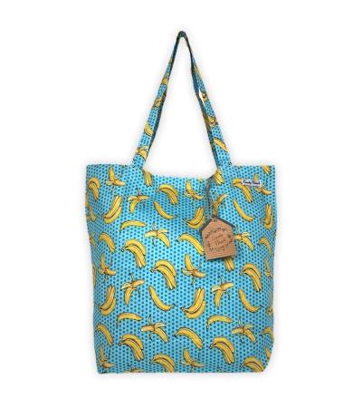 Borsa Mare Okoa Fashion Stampa Banane