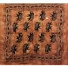 Copritutto Grande Batik Elefanti Marrone