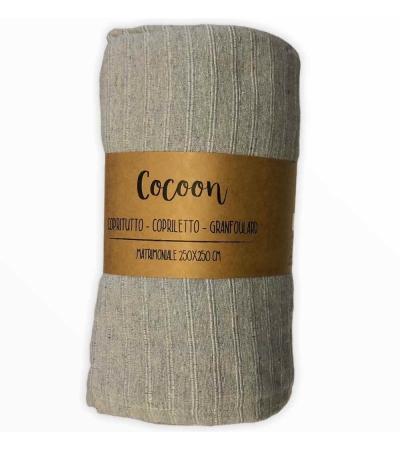 Copritutto Grande Cocoon Grigio