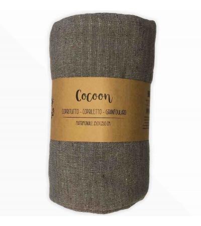 Copritutto Grande Cocoon Tortora