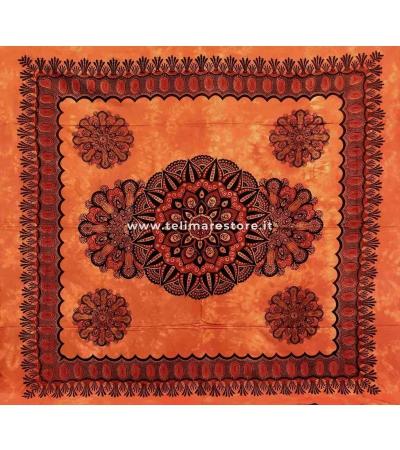 Copritutto Grande Crochet Arancione