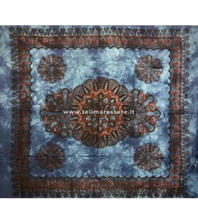 Copritutto Grande Crochet Blu