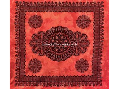 Copritutto Grande Crochet Rosso