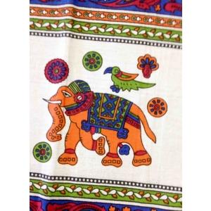 Copritutto Grande Elefante Blu Multicolor