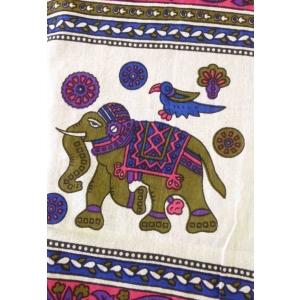 Copritutto Grande Elefante Fucsia Multicolor