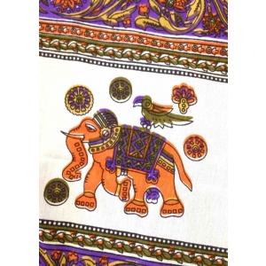 Copritutto Grande Elefante Viola Multicolor