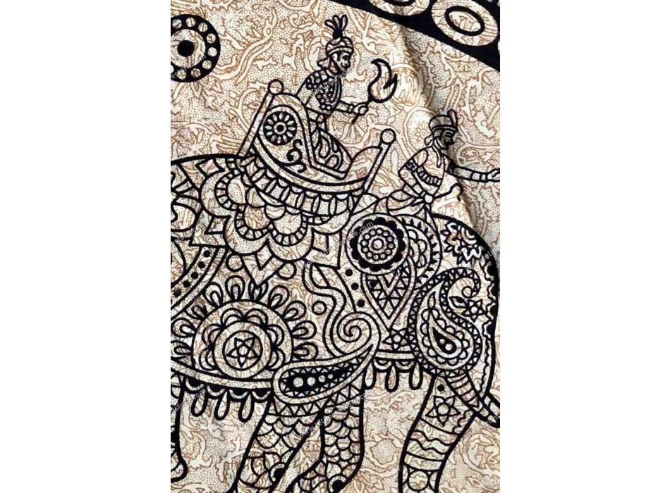 Copritutto Grande Elefanti Indiano Sabbiato