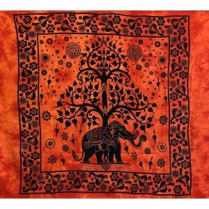 Copritutto Grande Elephant Life Arancio