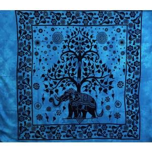 Copritutto Grande Elephant Life Azzurro