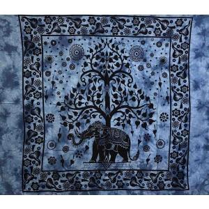 Copritutto Grande Elephant Life Blu