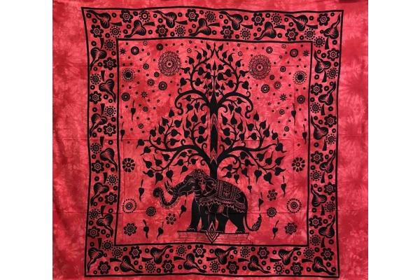 Copritutto Grande Elephant Life Rosso