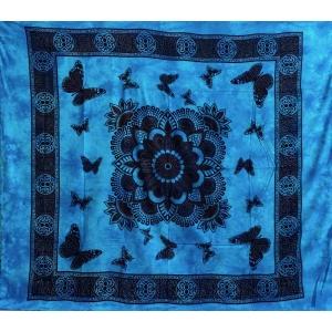 Copritutto Grande Farfalle Azzurro