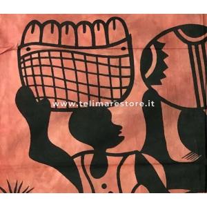 Copritutto Grande Four Woman Rosso