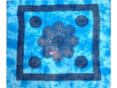 Copritutto Grande Margherita Azzurro