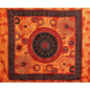 Copritutto Grande Margherita Circolare Arancione