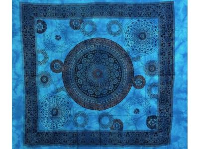 Copritutto Grande Margherita Circolare Azzurro