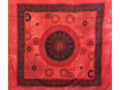 Copritutto Grande Margherita Circolare Rosso