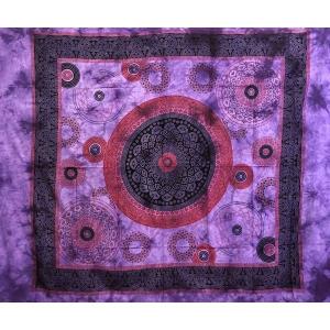 Copritutto Grande Margherita Circolare Viola