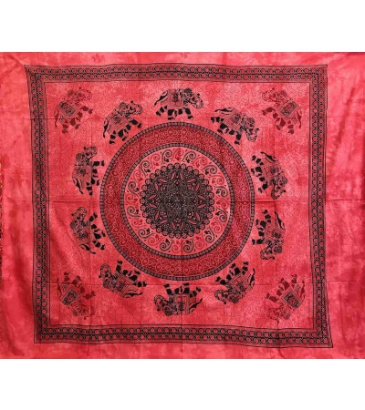 Copritutto Grande Pasley Elephant Rosso
