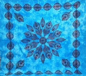 Copritutto Grande Pavone Azzurro