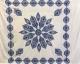 Copritutto Grande Pavone Bianco Blu