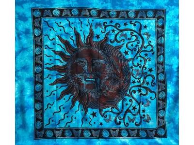 Copritutto Grande Sole Luna Azzurro