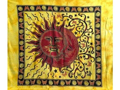 Copritutto Grande Sole Luna Giallo