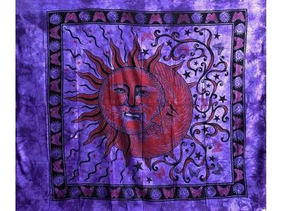Copritutto Grande Sole Luna Viola