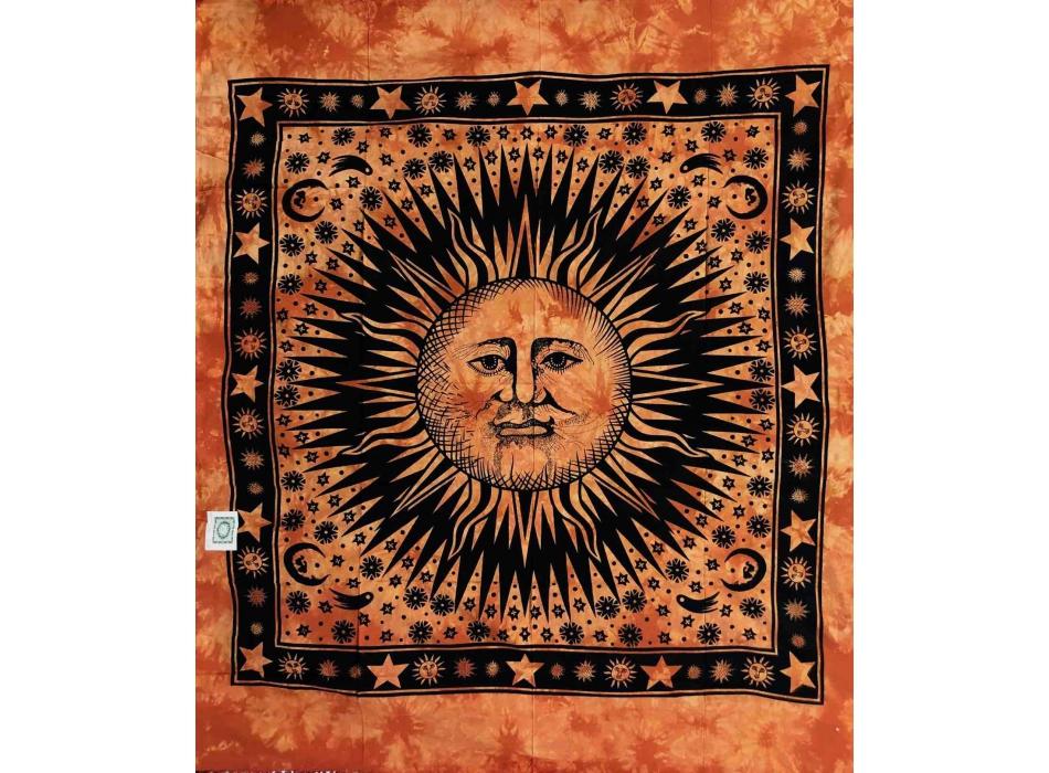 Copritutto Grande Soli Stelle Arancione