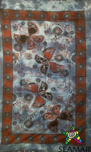 Copritutto Medio Butterfly Blu Stampato