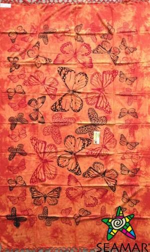 Copritutto Medio Farfalle Arancio