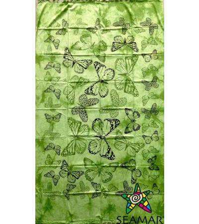 Copritutto Medio Farfalle Verde