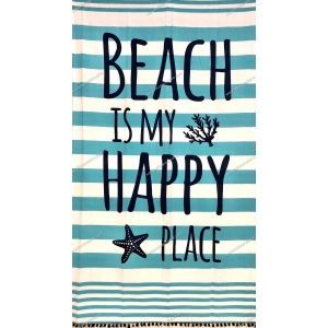 Fouta Happy Place Turchese