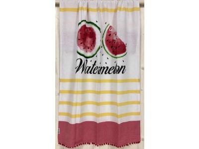 Fouta Singoli Watermelon Rosso