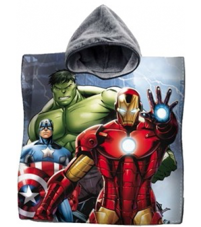 Poncho Stampato Avengers