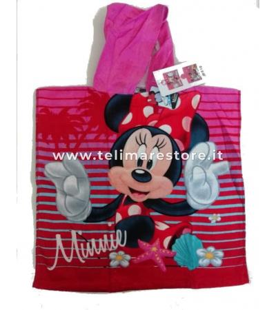Poncho Stampato Minnie