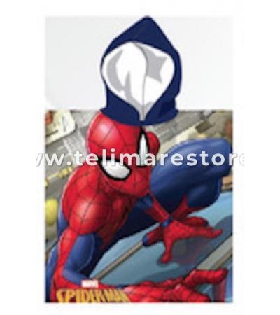 Poncho Stampato Spiderman 2