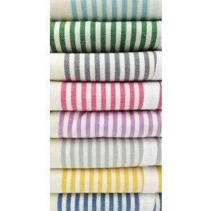 Telo Fouta Agadir Blu Royal a righe in cotone colori disponibili