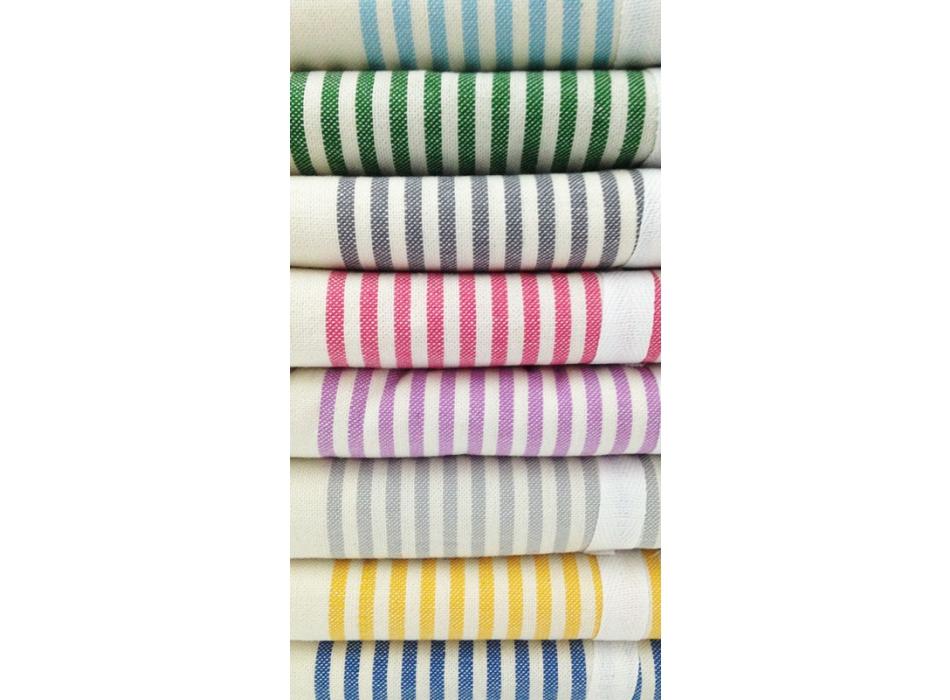 Telo Fouta Agadir Lilla a righe in cotone colori disponibili