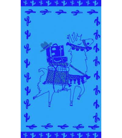 Telo Mare Alpaka Blu