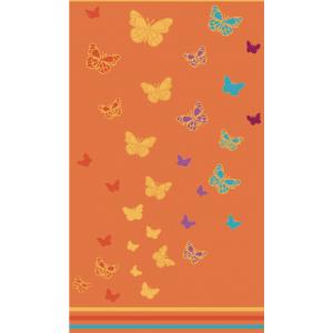 Telo Mare Butterfly Arancione