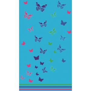 Telo Mare Butterfly Azzurro