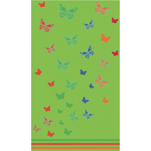 Telo Mare Butterfly Lime