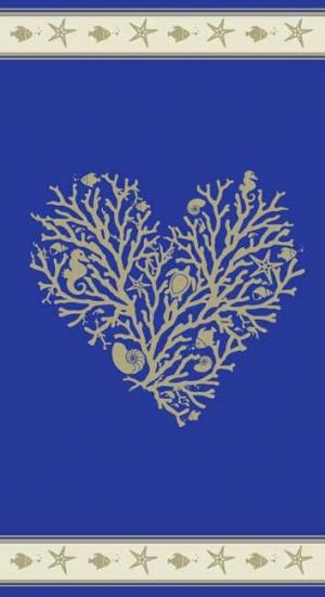 Telo Mare Corallo blu
