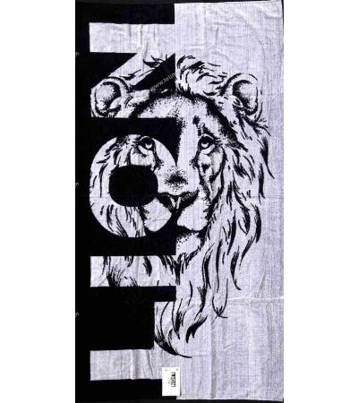Telo Mare Fantasia Jaquard Lion