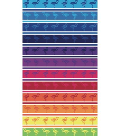 Telo Mare Flamingo Multicolor