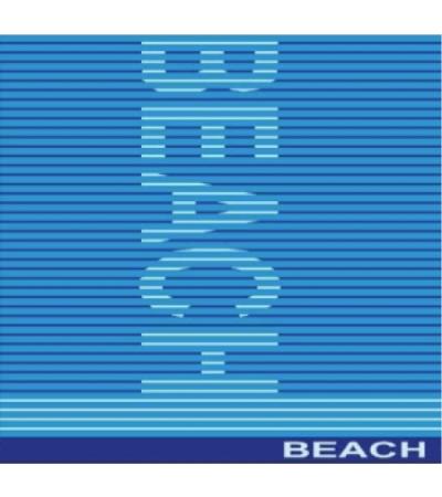 Telo mare Matrimoniale Beach Azzurro