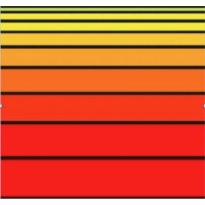 Telo mare Matrimoniale Big Stripe Arancione